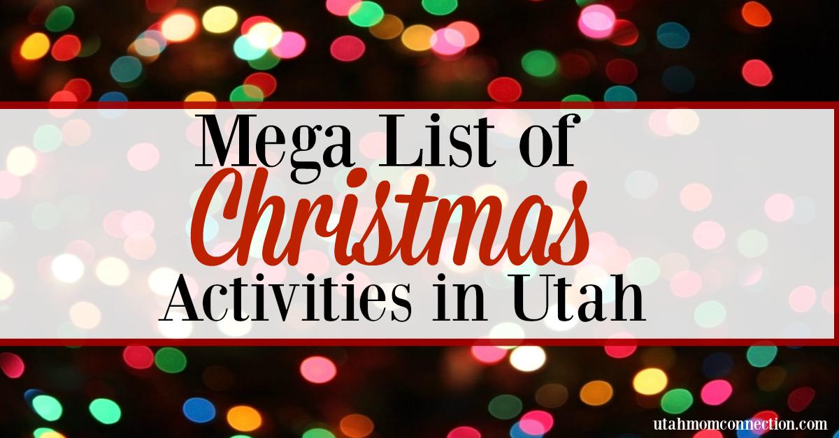 Christmas Activities in Utah